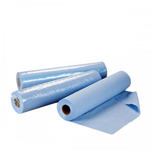 Чаршафи за еднократна употреба на ролка TNT - син 60 см или 70 см