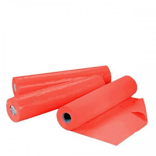 Еднократни чаршафи на ролка TNT – червен цвят 60см или 70см