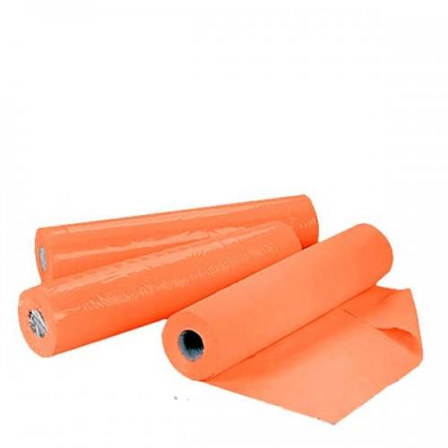 Еднократни чаршафи на ролка TNT – оранжев цвят  60 см или 70 см