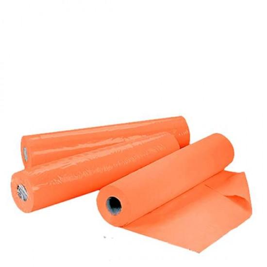 Еднократни чаршафи на ролка TNT – оранжев цвят