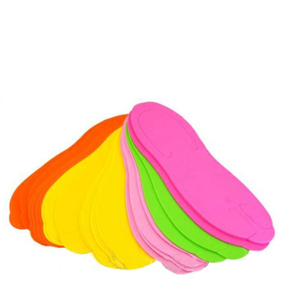 Еднократни чехли за педикюр Цветни – 24 броя