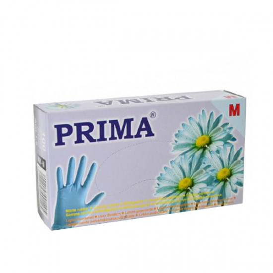 Ръкавици за еднократна употреба Сини - Кутия 100 броя