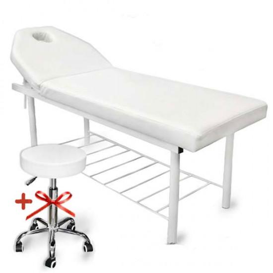 Професионално козметично легло - модел KL260 + ПОДАРЪК табуретка
