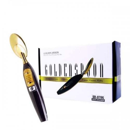 Козметичен уред - портативна ултразвукова златна лъжичка 070G