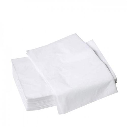 Чаршафи от нетъкан текстил без ластик Prima, 10 броя