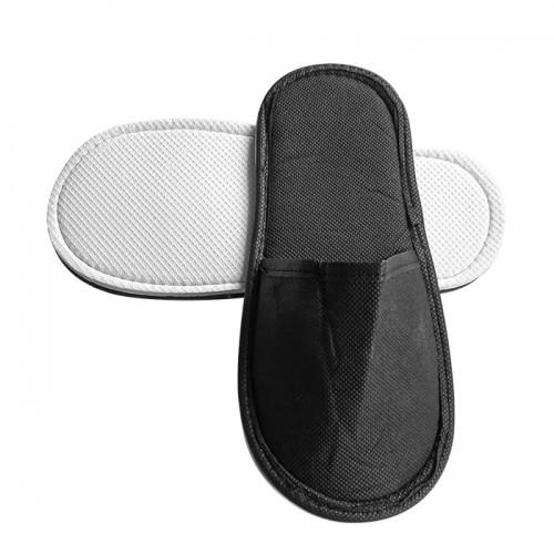 Еднократни универсални чехли от нетъкан текстил, Черен