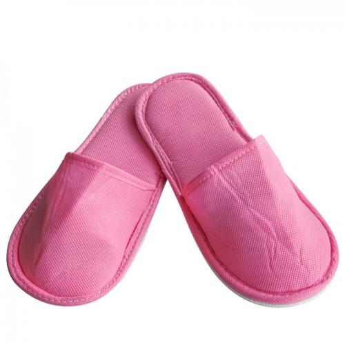Еднократни универсални чехли от нетъкан текстил, Розов