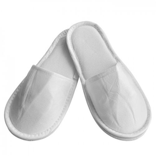 Еднократни универсални чехли от нетъкан текстил, Бял