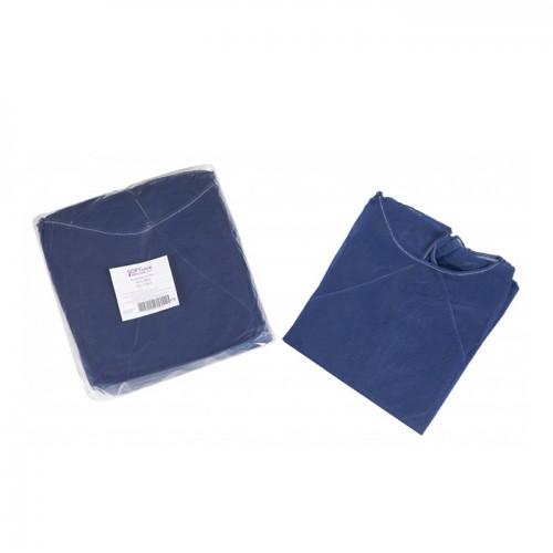 Медицинска престилка с ръкави Softcare, Унисекс, Универсален размер - Синя