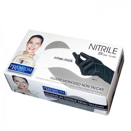 Ръкавици за еднократна употреба от нитрил Premium, 100 броя